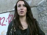Torbe follando por dinero con una joven famosa de la tele - Español