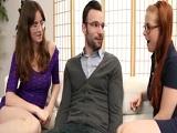 Penny Pax y Jay Taylor se follan al estudiante extranjero - Trios