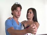 El compañero de baile estaba deseando follar con ella - Milf