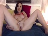 Dana DeArmond y su show en la webcam para CamSoda - Masturbaciones