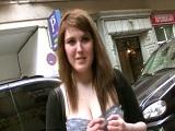 La pilladas en la calle de Torbe con Hanna Montada - Español