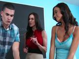 Que sea la última vez que os pillo follando en clase, vale?