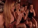 La reunión de las amigas, termina con una orgía lesbica - Orgias