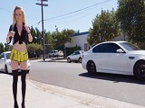 La nueva prostituta de la ciudad tiene mucho trabajo.. - XXX